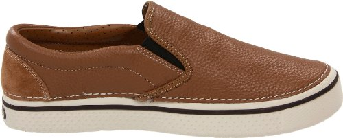 Hazelnut Marrón 11755 Leather Crocs Zapatillas Para Hover Hombre On Slip stucco 8qxxIpUz