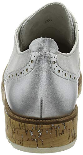 Marco 23726 Femme silver Argent Comb Brogues Tozzi aarqxwfp
