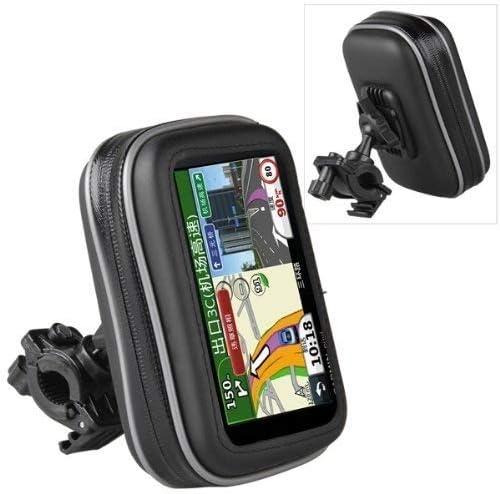 Funda impermeable para GPS de Yeah67886, para bicicleta, motocicleta (color negro): Amazon.es: Jardín