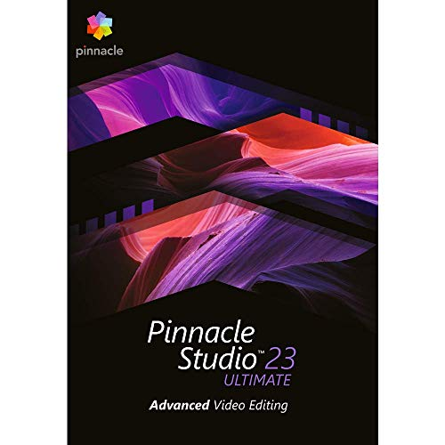 Pinnacle Studio 23 Ultimate - Advanced Video Editing and Screen Recording [PC Download] (Windows Video Editing Software)