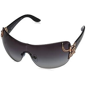 Bvlgari BV6079B 376/8G Pink / Gold BV6079B Visor Sunglasses Lens Category 3 Siz