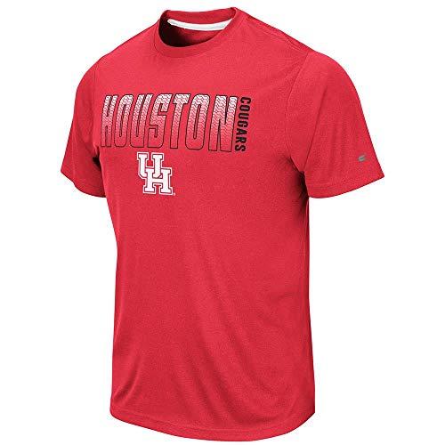 Colosseum Mens Houston Cougars Hamilton Short Sleeve Tee Shirt - 2XL