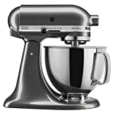 KitchenAid KSM150PSQG Artisan Series with Pouring Shield Mixer, 5-Quart, Liquid Graphite