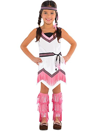 Toddler Pocahontas Costumes (Children's Native American Spirit Costume Size Toddler (3-4))