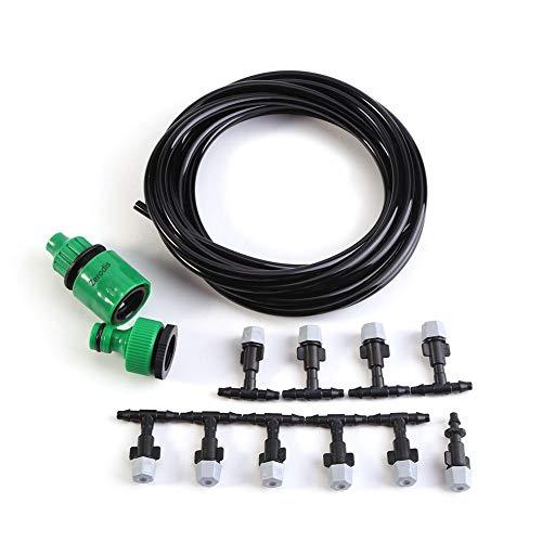 Kits d'irrigation RéglableSystème d'arrosage Automatique Pour DIY Irrigation Arrosage Brumisation Jardin Serre Goutteurs Micro Arroseur d'arrosage Arroseurs Plantes Irrigator (5M)