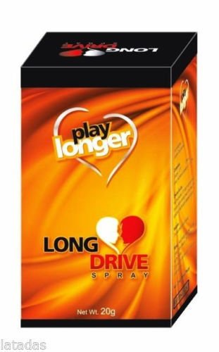Long Drive Spray 20g for Longlast Sexual Drive & Wellness for Men Increase Time