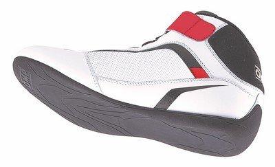 ks-2Sneaker OMP weiß/schwarz/rot Gr. 39