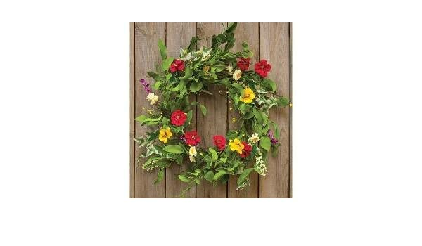 BCD Beautiful 20 Hibiscus Floral Wreath