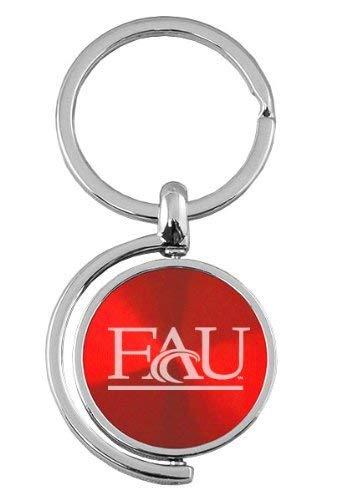 LXG, Inc. Florida Atlantic University - Spinner Key Tag - Red
