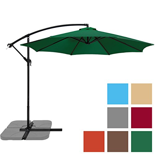 Best Choice Products Hanging Umbrella