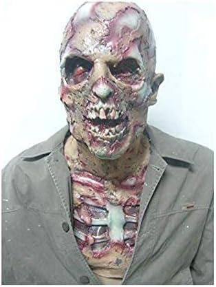 Horror Hecho a Mano Zombie Cabeza Completa Máscara de látex ...