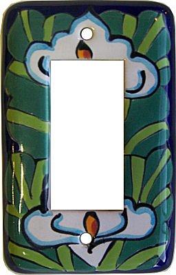 Fine Crafts Imports Lily Talavera Single Decora Switch Plate