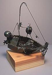 Fishing boat, 2 flea
