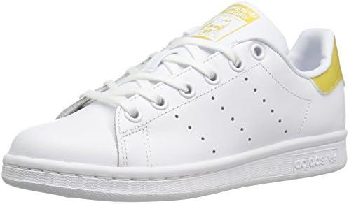 adidas Originals Boys' Stan Smith J Sneaker, WhiteWhite
