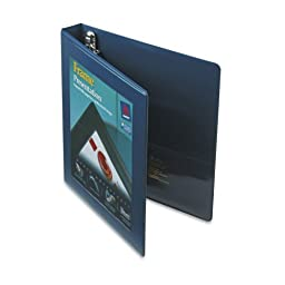 Avery Framed Presentation Locking View Binder, 1In Capacity, Navy Blue (68055)