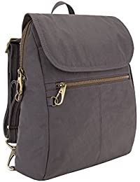 Anti-theft Signature Slim Backpack, Smoke