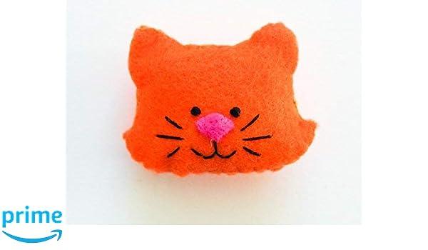Toys & Hobbies Felt cat figures Brooch