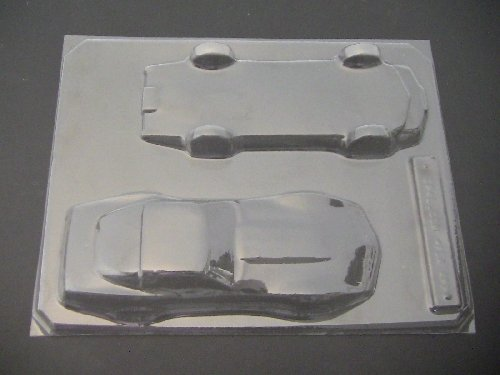 Car Chocolate Mold (Corvette 3D Chocolate Candy)