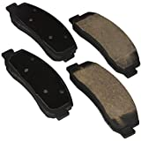 Bosch BE1069H Blue Disc Brake Pad Set with Hardware for 2005-09 Ford F-250/F350 Super Duty - FRONT