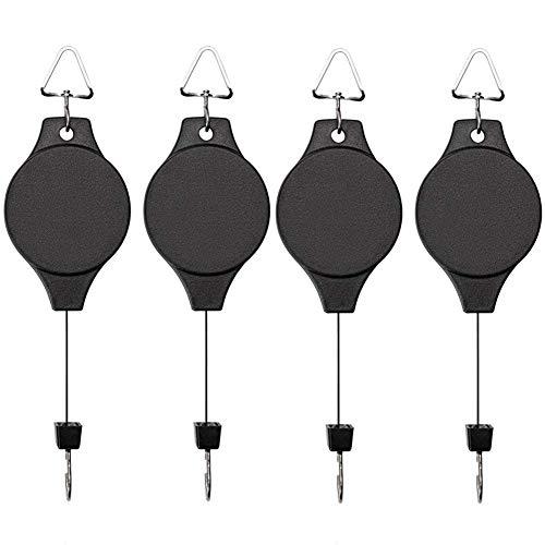 EWONICE Retractable Pulley Hanging Adjustable
