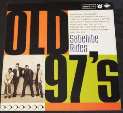 Old 97's - Satellite Rides (Double Sided Poster / Flat)