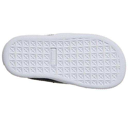 Sneakers Basses Puma puma Patent Basket 1 Noir Bébé Heart Black Fille puma Inf Black rXrq1wFIx