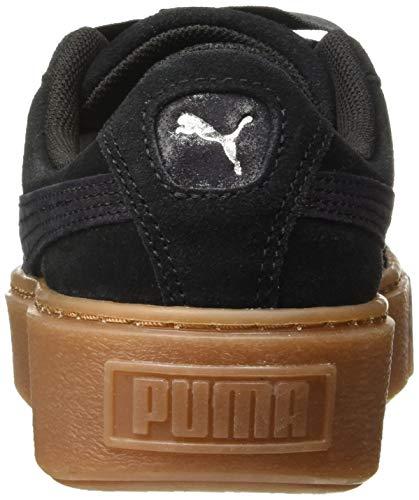 Nero Ginnastica gum Donna Puma Basse Da puma Galaxy Wn's Scarpe Platform Black gxgPwq8TX