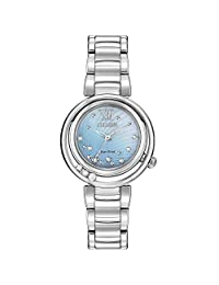 CITIZEN ECO-DRIVE LADIES ONE LINKE FOR THE BRACLET SUNRISE WATCH EM0320-59D