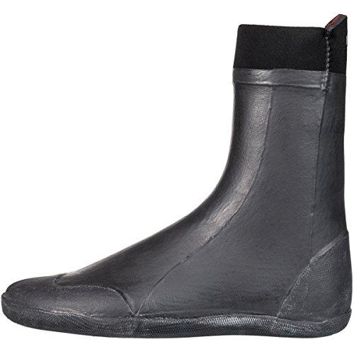 (Quiksilver 5mm Neo Goo Split Toe Men's Watersports Boots - Black / 9)