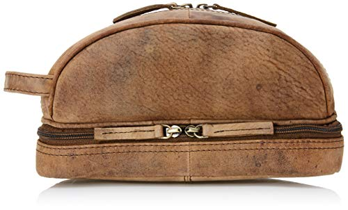 - Toiletry Bag For Men (Dopp Kit) with free Travel Bottles. The perfect gift and travel accessory.