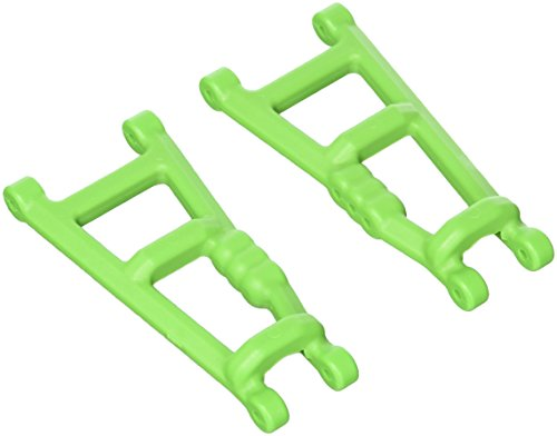RPM Rear A-arms for The Electric 2WD Stampede, Rustler, and Monster Jam, Green