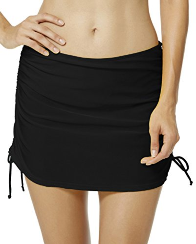 ec38d49dd9 Seagoo Women Skirted Swim Bottoms Swimming Bikini Skirt Slimming Chlorine  Resistant Beachwear