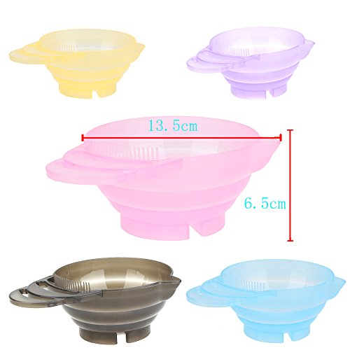 350ml Hairdressing Salon Hair Color Dye Bowl DIY Coloring Mixing Bowl Hair Care color styling tools 1 PCS by LKForward_Beauty and Health