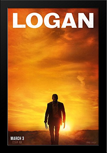 Logan 28x38 Large Black Wood Framed Movie Poster Art Print