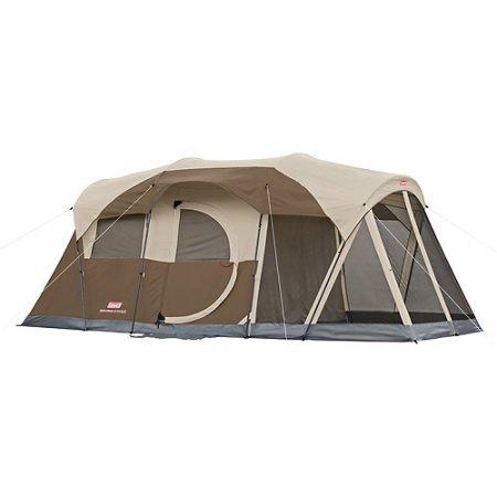Coleman Weathermaster 6 screened 17x9 Tent