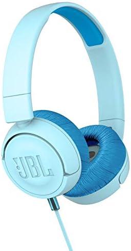 JBL JR300 Kids Folding On-Ear Headphones – Blue – JBLJR300BLU Renewed