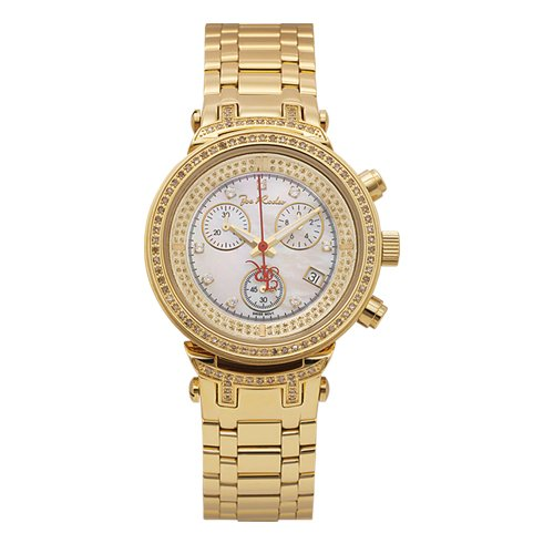 Joe Rodeo Master Lady Mid Size Diamond Bezel Watch