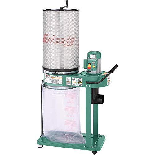 Grizzly G0583Z 1 HP Canister Dust Collector