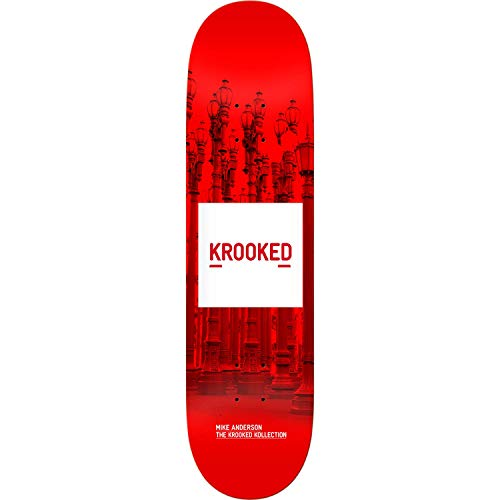 Krooked Anderson Kollection Skateboard Deck -8.18 - Assembled AS Complete Skateboard