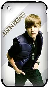 MusicSkins, MS-JB10001, Justin Bieber - My World 2.0 Color, iPhone 2G/3G/3GS, Skin by icecream design