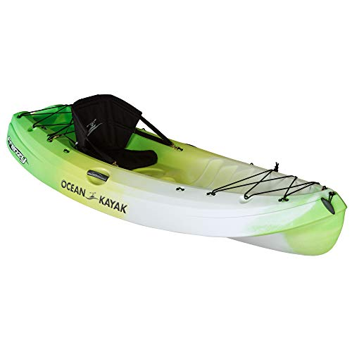 Scubapro Ocean Kayak Frenzy 1-Person Sit-On-Top Recreational Kayak (Envy, 9 Feet)