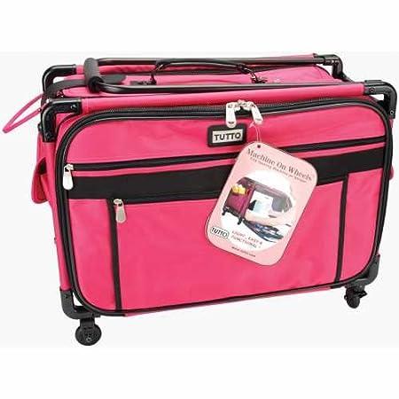 Tutto Machine On Wheels Case 21 X13-1//4 X12-Pink