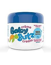 Baby Butz Diaper Rash Cream, 100% Natural, Zinc Oxide Paste, Prevents, Relieves & Treats Diaper Rash, 113g