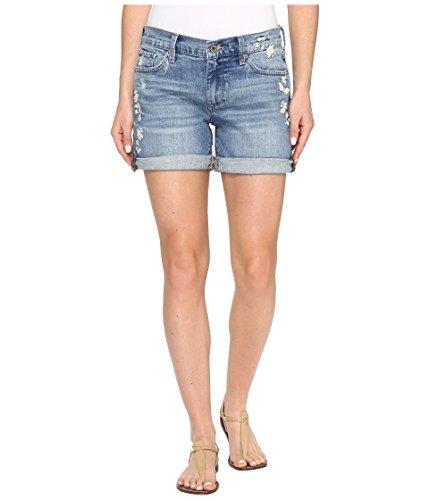 俳句全体にジャベスウィルソン[ラッキーブランド] Lucky Brand レディース The Roll Up Shorts in Blue Palms パンツ Blue Palms 29 (US 8) [並行輸入品]
