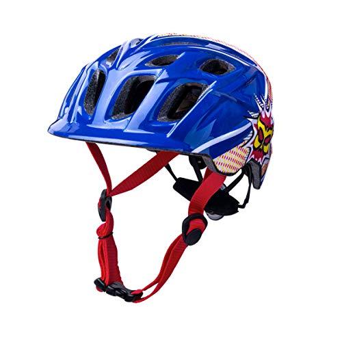 Kali Protectives Chakra Child Helmet Universal Child Pow Blue/Red