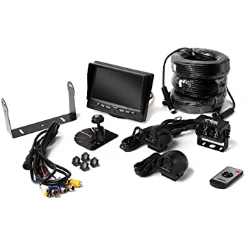 Amazon.com: Backup Camera System with Side Cameras and