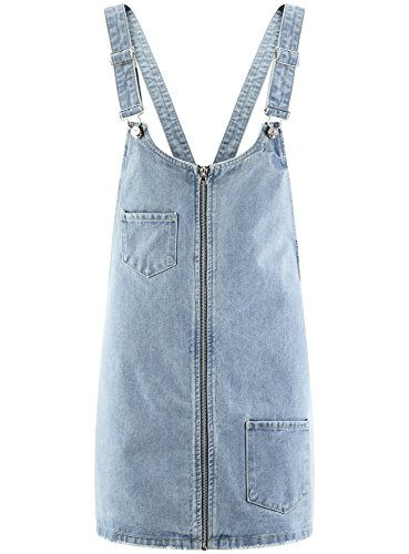 Ultra Robe Jean oodji Femme 7000w d't en Zippe Bleu SaxdP6q1