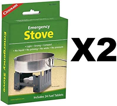Emergency Stove Includes 24 Fuel Tablets