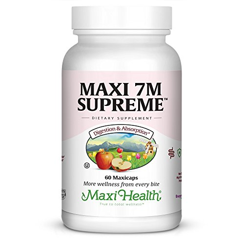 Maxi Health 7M Supreme High Potency Probiotic Acidophilus Formula, 60 Count
