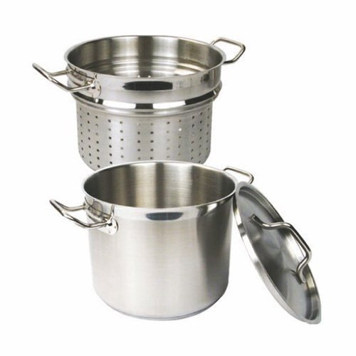 Thunder Group Stainless Steel Pasta Cooker, 20-Quart by Thunder Group